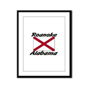 Roanoke Alabama Framed Panel Print