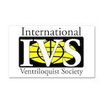 Ivs Banner Logo Car Magnet 20 X 12