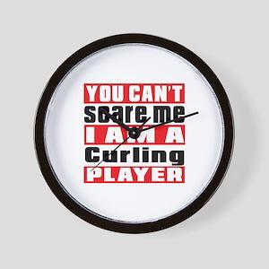 I Am Curling Player Wall Clock