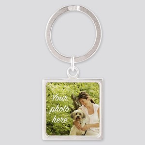 Your Photo Here Keychains