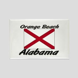 Orange Beach Alabama Rectangle Magnet