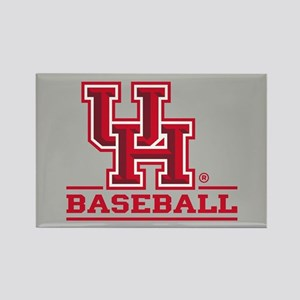 UH Baseball Rectangle Magnet