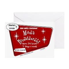 Breastaurant Greeting Cards (Pk of 10)