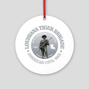 The Tiger Brigade Round Ornament