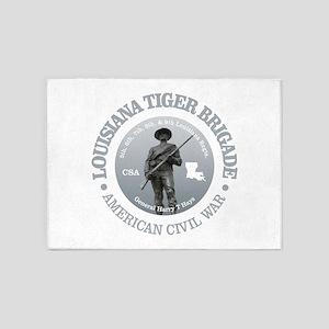 The Tiger Brigade 5'x7'Area Rug