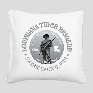 The Tiger Brigade Square Canvas Pillow