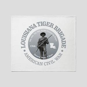 The Tiger Brigade Throw Blanket