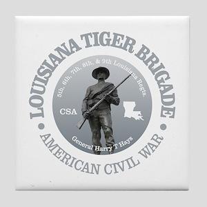 The Tiger Brigade Tile Coaster