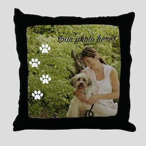 Your Pet Photo Throw Pillow