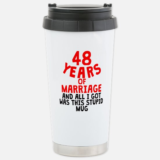 48 Years Of Marriage Mugs