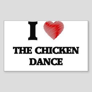I love The Chicken Dance Sticker