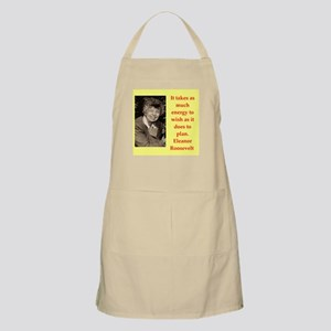 Eleanor Roosevelt quote Apron