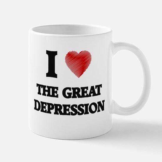 I love The Great Depression Mugs