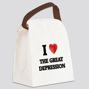 I love The Great Depression Canvas Lunch Bag