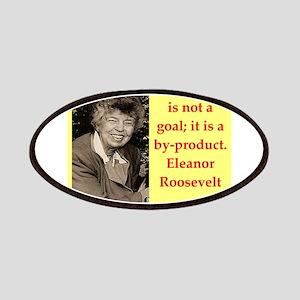 Eleanor Roosevelt quote Patch