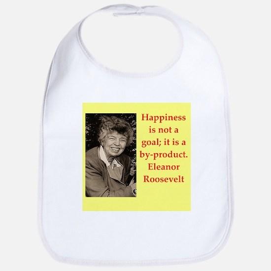 Eleanor Roosevelt quote Bib