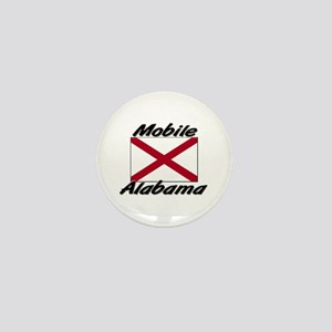 Mobile Alabama Mini Button