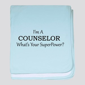 Counselor baby blanket