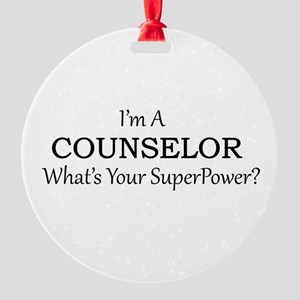 Counselor Round Ornament