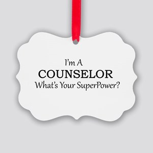 Counselor Picture Ornament
