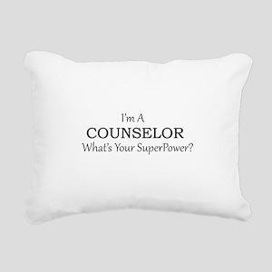 Counselor Rectangular Canvas Pillow