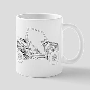 Side X Side Drawing Mugs