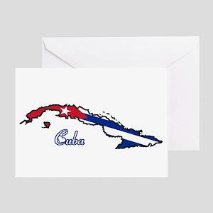 Cool Cuba Greeting Card