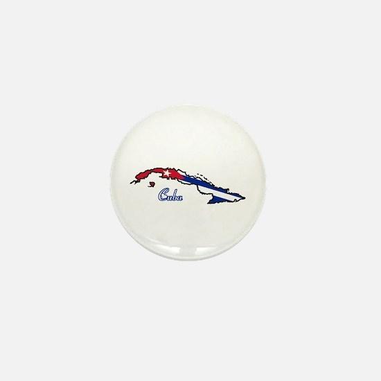 Cool Cuba Mini Button