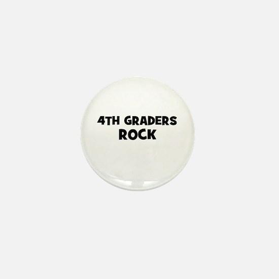4th Graders Rock Mini Button