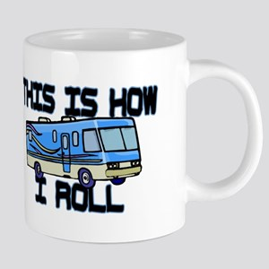 How I Roll RV Mugs