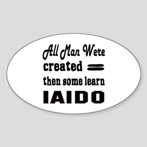 Some Learn Iaido Sticker (Oval)