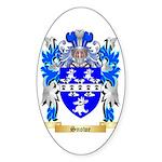 Snowe Sticker (Oval 50 pk)
