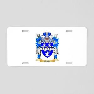 Snowe Aluminum License Plate