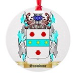 Snowdone Round Ornament