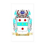 Snowdone Sticker (Rectangle 50 pk)