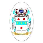 Snowdone Sticker (Oval 10 pk)