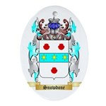Snowdone Oval Ornament