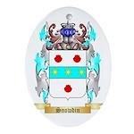 Snowdin Oval Ornament