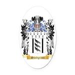 Snodgrass Oval Car Magnet