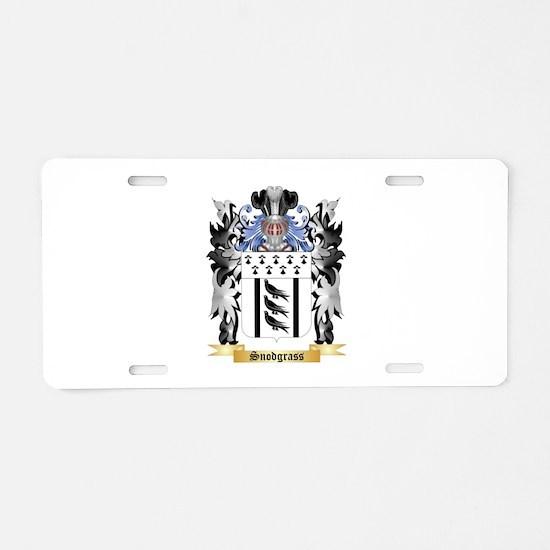 Snodgrass Aluminum License Plate