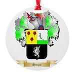 Snipe Round Ornament