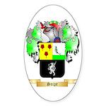 Snipe Sticker (Oval 50 pk)