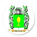 Snijders Round Car Magnet