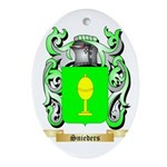 Snieders Oval Ornament