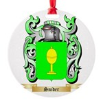 Snider Round Ornament