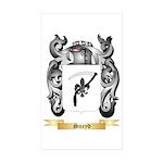 Sneyd Sticker (Rectangle 50 pk)