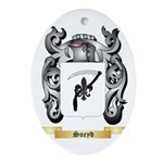 Sneyd Oval Ornament
