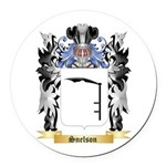 Snelson Round Car Magnet