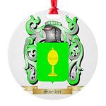 Sneider Round Ornament