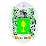 Sneider Oval Ornament
